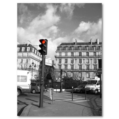 Αφίσα (κυκλοφορία, φώτα, πόλη, δρόμος)